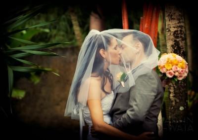 Bali wedding couple