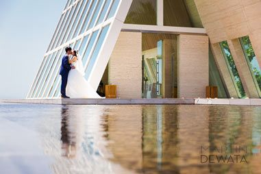 Aaron & Sherry, Conrad, Infinity chapel wedding