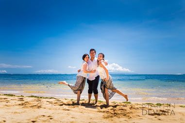 Family holiday photographs