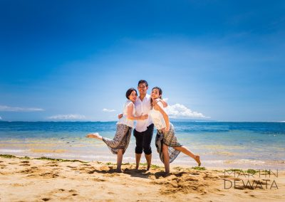 Family holiday photographs