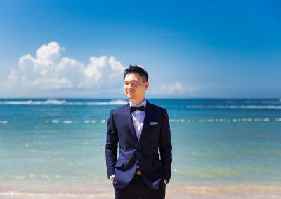 Bali bride & groom