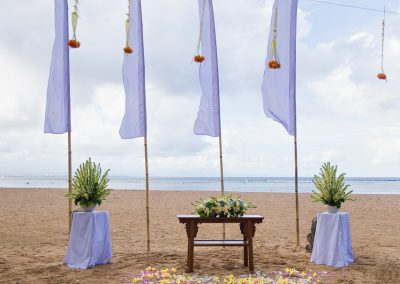 Stylish Bali wedding