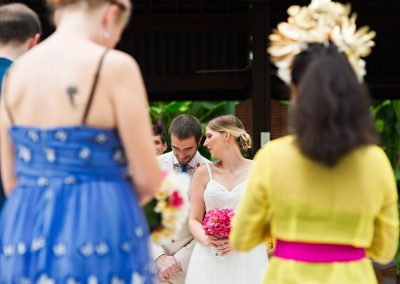Vows in the Ubud jungle