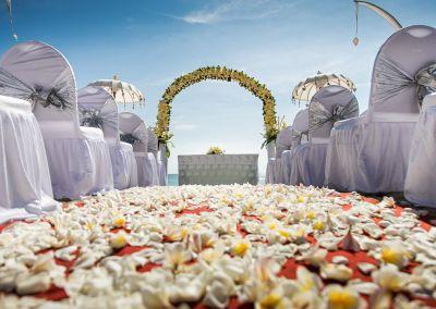 Bali wedding with children