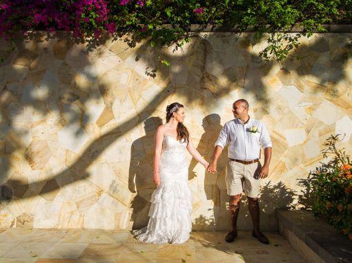 Michael & Chelsea, Ayana, Tresna chapel wedding