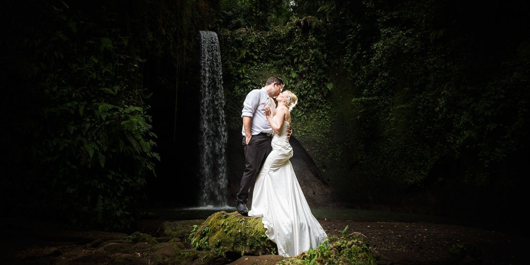Simon & Sarah, Tibumana waterfalls