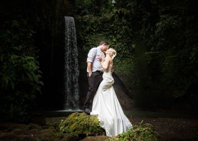 Simon & Sarah, Tibumana waterfalls